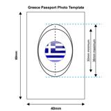 Greek Passport Photo Templates