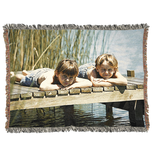 60 x 80 Woven Throw Blanket