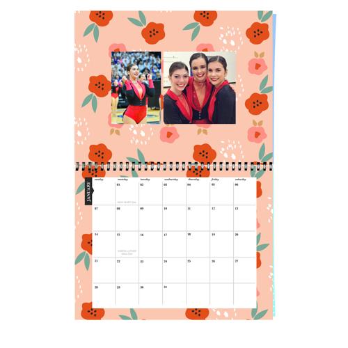Floral Calendar - 2018
