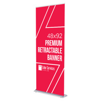 48x92 Premium Retractable Banner