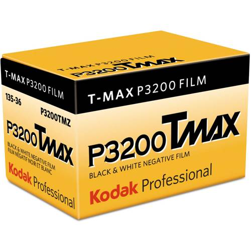 Kodak-Professional T-Max P3200 Black and White-Film