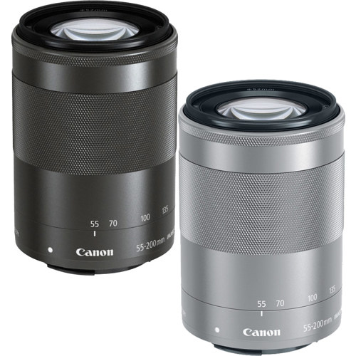 Canon-EF-M 55-200mm F4.5-6.3 IS STM-Lenses - SLR & Compact System