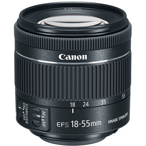 Canon-EF-S 18–55mm f4-5.6 IS STM-Lenses - SLR & Compact System