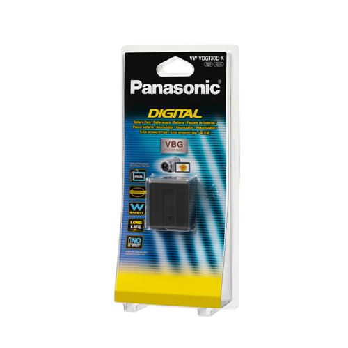 Panasonic-Rechargable Battery VW-VBG130-Piles