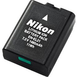 Nikon-EN-EL21-Battery Packs & Adapters