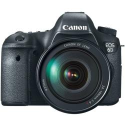 Canon-EOS 6D Digital SLR Camera with EF 24-105mm L IS USM Lens-Digital Cameras