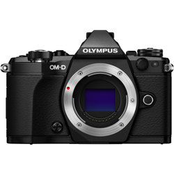 Olympus-OM-D E-M5 Mark II System Camera - Body Only - Black-Digital Cameras