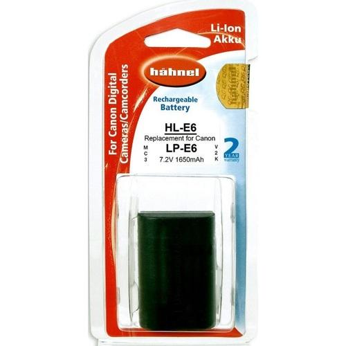 Hähnel-HL-E6 Remplacement de Batterie Canon LP-E6-Bloc-piles & Adaptateurs