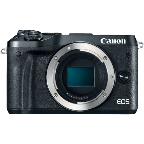 Canon-EOS M6 Interchangeable Lens Camera - Body Only-Digital Cameras