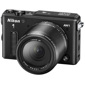 Nikon-1 AW1 Compact Interchangeable Lens Camera with built-in GPS with 1 NIKKOR AW 11-27.5mm Lens-Digital Cameras
