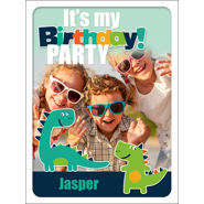 Dino B-Day Poster