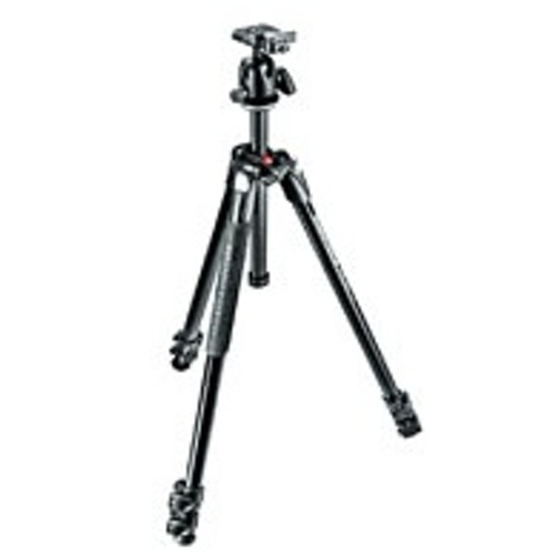 Manfrotto-290 XTRA Tripod Kit with 496RC2 Head #MK290XTABH-Trépieds & Monopieds