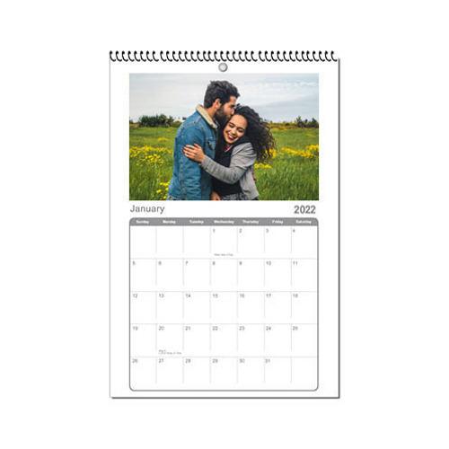 Calendar 8x12 2022