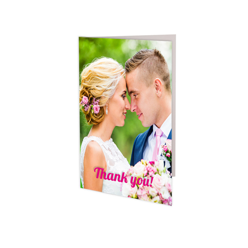 (12 PACK) 3.5x5 Folded Card - Vertical