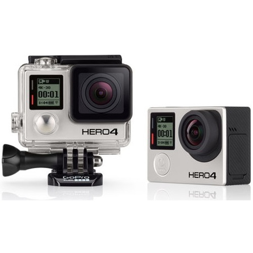 GoPro-HERO4 - Black Standard Edition #CHDHX-401-Video Cameras