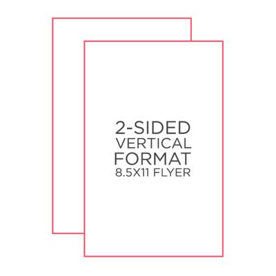 """25pk - 8.5"""" x 11"""" Flyer"""