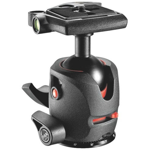 Manfrotto-MH054M0-Q2 054 Magnesium Ball Head with Q2 Quick Release-Tripod Heads