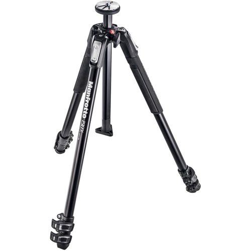 Manfrotto-190X Aluminum 3 Section Tripod #MT190X3-Tripods & Monopods