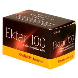 Kodak-Professional Ektar 100 film 35mm - 36 Exposures-Film