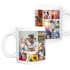 11 oz. Ceramic Mug Collage - 12 images