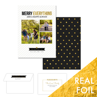 Merry Everything<br>5x7 Foil<br>Envelope