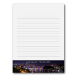Knoxville Night Skyline Notepad