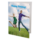 Ens de 6 - Cartes de souhaits pliées 5x7 - Vertical