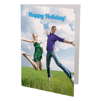 (6 PACK) 5x7 Folded Card - Vertical