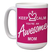 15 oz Ceramic Mom Mug (B)