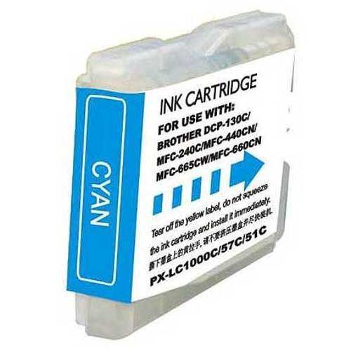 Brother Compatible-LC51C Cyan Ink-Ink Cartridges