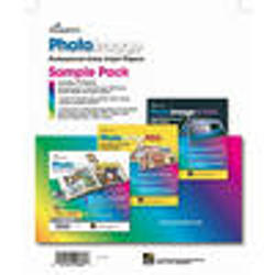 Promaster Photoimage Sample Pack 85 X 11 2 X Glossy 2 X Matte 2