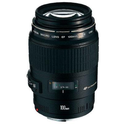 Canon-EF 100mm F2.8 Macro USM-Lenses - SLR & Compact System