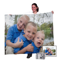 "50""x60"" Fleece Photo Blanket (Horizontal)"
