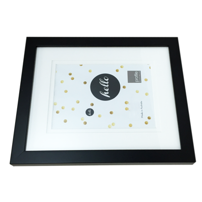 Black 10x8 Frame with 5x7 photo - Gift Specifications | PhotoBee Digital