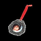 Metal Wreath Ornament