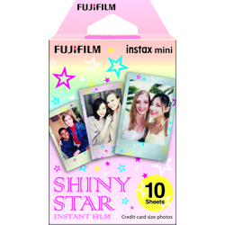 Fujifilm-Instax Mini Instant Film - Shiny Star - 10 Sheets-Film