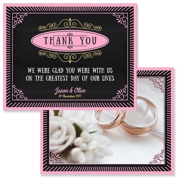 Chalkboard - 2 Sided Thank You