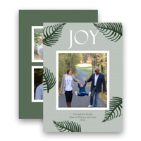 Border of Boughs: 10pk Holiday Cards