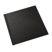 12 x 12 Black Leatherette