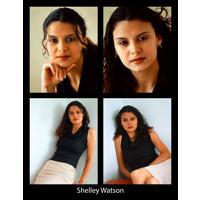 8.5 x 11 Headshot w/ Resume 4 Photos (Black Border)