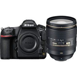 Nikon-D850 DSLR Camera with AF-S 24-120mm F4 VR Lens-Digital Cameras