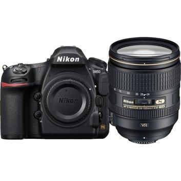 Nikon D850 DSLR Camera with AF-S 24-120mm F4 VR Lens