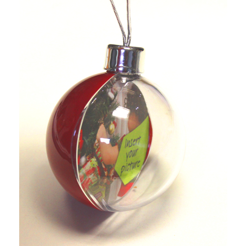 Large Red Bauble
