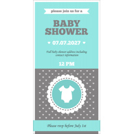 Baby Shower Card K