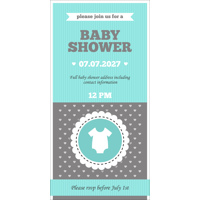 Baby Shower Card K