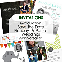 Invitations: Photo & Cardstock