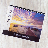 Wall Calendars (Multipage) Comb Binding