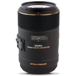 Sigma-105mm F2.8 EX DG OS HSM Macro Lens for Canon-Lenses - SLR & Compact System