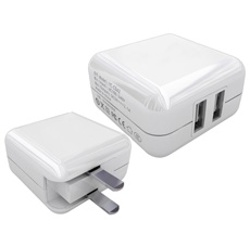 ProMaster-USB Charger - AC Dual Port 2.1A/1A #9157-Smartphone and Tablet Accessories