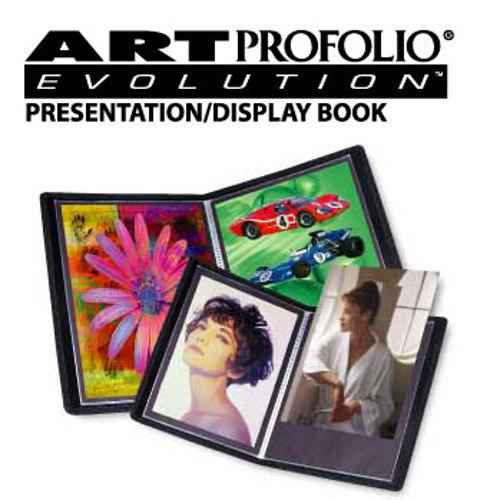 Itoya-EV-12-8 Art Profolio Evolution - 8.5 x 11 - 24 pages-Albums and Portfolios